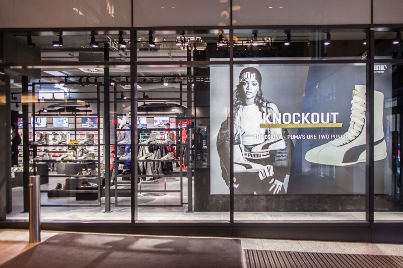 PUMA znovuotevírá svůj obchod v pražském Palladiu PUMA znovuotevírá svůj  obchod v pražském Palladiu ... 8128b6556f