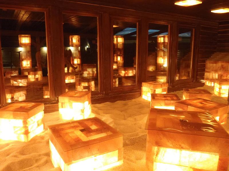 Kristall palm beach sauna